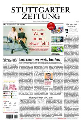 Stuttgarter Zeitung (23.01.2021)