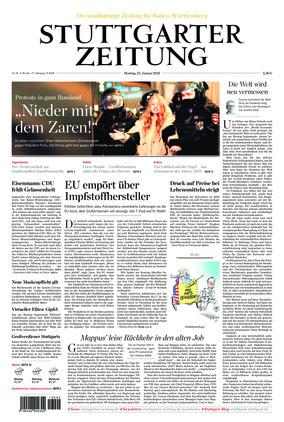 Stuttgarter Zeitung (25.01.2021)