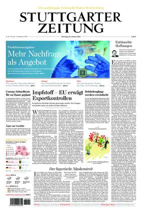 Stuttgarter Zeitung (26.01.2021)