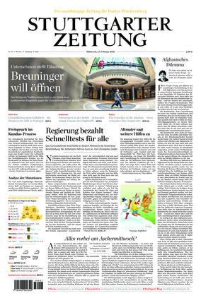 Stuttgarter Zeitung (17.02.2021)