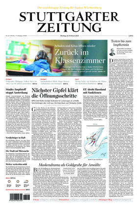Stuttgarter Zeitung (22.02.2021)