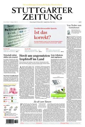 Stuttgarter Zeitung (25.02.2021)