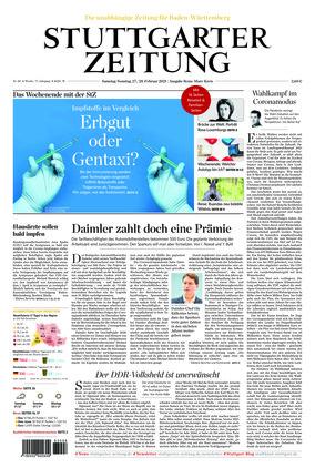 Stuttgarter Zeitung (27.02.2021)