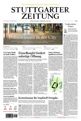 Stuttgarter Zeitung (01.03.2021)