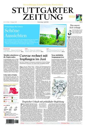 Stuttgarter Zeitung (01.04.2021)
