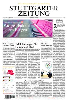 Stuttgarter Zeitung (08.04.2021)