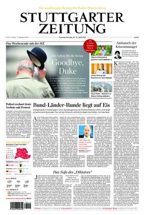 Stuttgarter Zeitung (10.04.2021)
