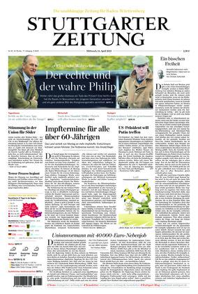 Stuttgarter Zeitung (14.04.2021)