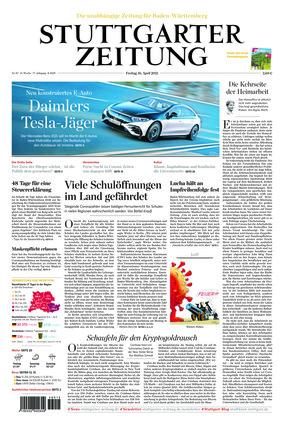 Stuttgarter Zeitung (16.04.2021)