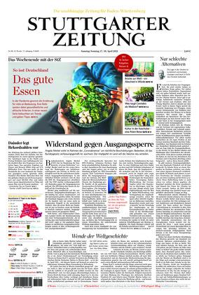 Stuttgarter Zeitung (17.04.2021)