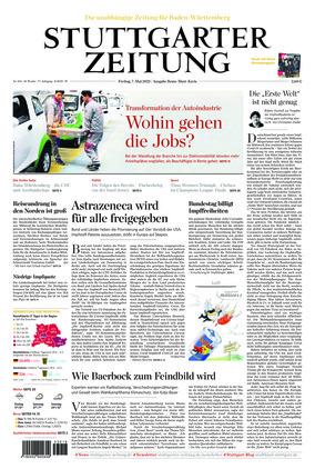 Stuttgarter Zeitung - Rems-Murr-Kreis (07.05.2021)