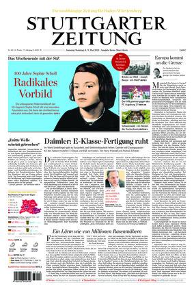 Stuttgarter Zeitung - Rems-Murr-Kreis (08.05.2021)