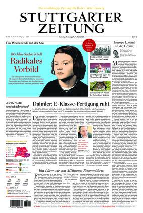 Stuttgarter Zeitung (08.05.2021)