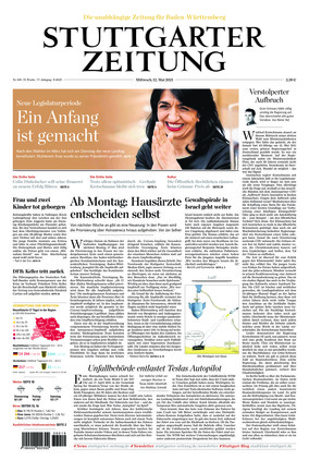 Stuttgarter Zeitung (12.05.2021)