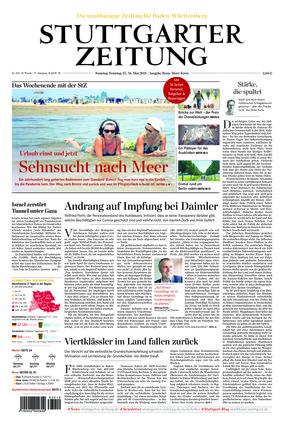 Stuttgarter Zeitung - Rems-Murr-Kreis (15.05.2021)