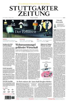 Stuttgarter Zeitung (17.05.2021)
