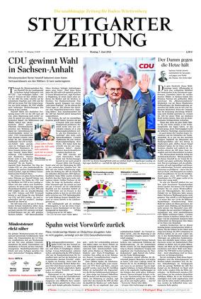 Stuttgarter Zeitung (07.06.2021)