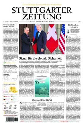 Stuttgarter Zeitung - Rems-Murr-Kreis (17.06.2021)