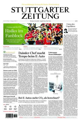 Stuttgarter Zeitung - Rems-Murr-Kreis (21.06.2021)