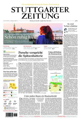 Stuttgarter Zeitung - Rems-Murr-Kreis (22.06.2021)