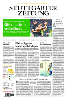 Stuttgarter Zeitung - Rems-Murr-Kreis (24.06.2021)