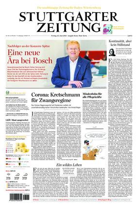 Stuttgarter Zeitung - Rems-Murr-Kreis (25.06.2021)