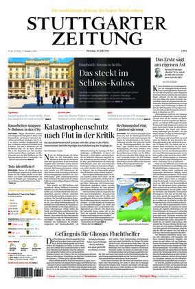 Stuttgarter Zeitung (20.07.2021)