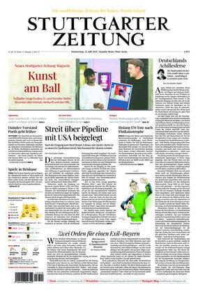 Stuttgarter Zeitung - Rems-Murr-Kreis (22.07.2021)