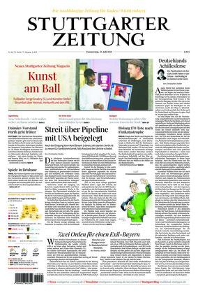 Stuttgarter Zeitung (22.07.2021)