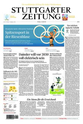 Stuttgarter Zeitung (23.07.2021)