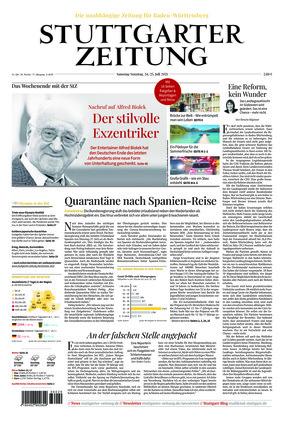 Stuttgarter Zeitung (24.07.2021)