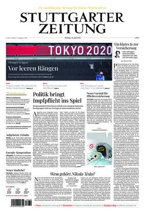 Stuttgarter Zeitung (26.07.2021)