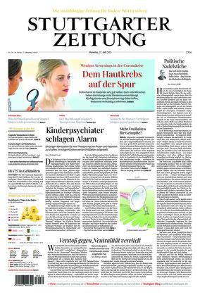 Stuttgarter Zeitung (27.07.2021)