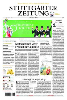 Stuttgarter Zeitung (28.07.2021)