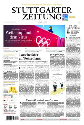 Stuttgarter Zeitung (30.07.2021)