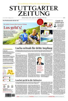 Stuttgarter Zeitung - Rems-Murr-Kreis (31.07.2021)