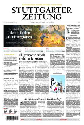 Stuttgarter Zeitung - Rems-Murr-Kreis (02.08.2021)