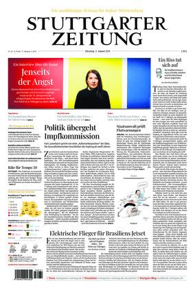 Stuttgarter Zeitung (03.08.2021)