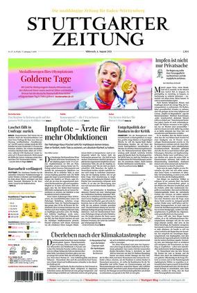 Stuttgarter Zeitung (04.08.2021)