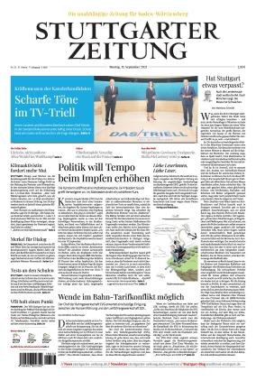 Stuttgarter Zeitung (13.09.2021)