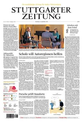 Stuttgarter Zeitung (14.09.2021)
