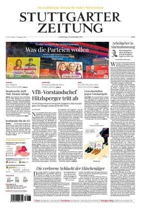 Stuttgarter Zeitung (16.09.2021)