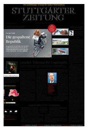 Stuttgarter Zeitung (18.09.2021)