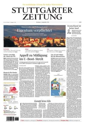 Stuttgarter Zeitung (21.09.2021)