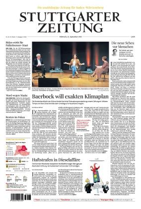 Stuttgarter Zeitung (22.09.2021)