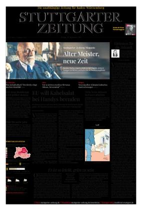 Stuttgarter Zeitung (24.09.2021)