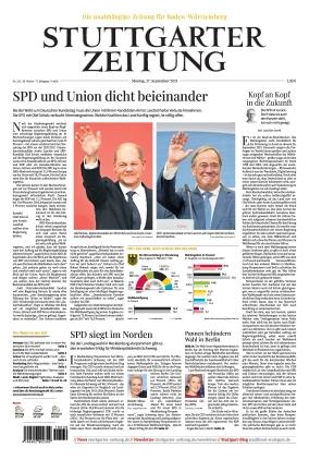 Stuttgarter Zeitung (27.09.2021)
