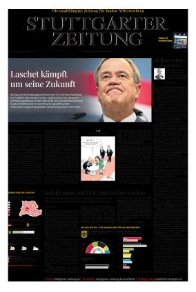 Stuttgarter Zeitung (28.09.2021)