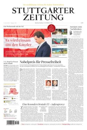 Stuttgarter Zeitung (09.10.2021)