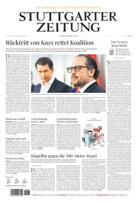 Stuttgarter Zeitung (11.10.2021)